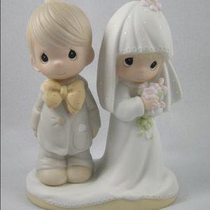 Precious moments bride and groom